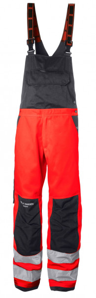 Helly Hansen Shorts / Hose 77510 Alna Bib 169 Red/Charcoal
