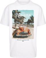 Mister Tee T-Shirt Havana Vibe Oversize Tee White