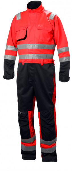 Helly Hansen Overall 77610 Alna Suit 169 Red/Charcoal