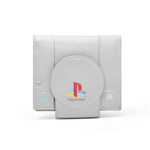 Playstation Wallet Shaped Playstation Bifold Grey