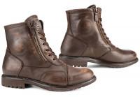 Falco Motorrad Schuhe / Sneaker Aviator Wasserdicht Brown