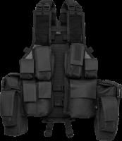 Brandit Weste Tactical Vest in Black