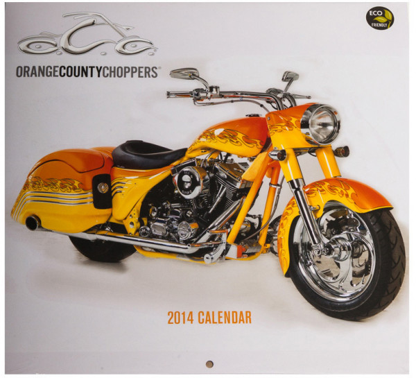 OCC Orange County Choppers Kalender