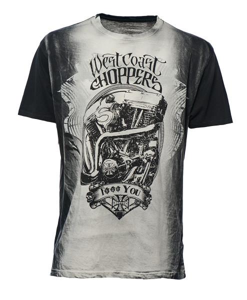 WCC West Coast Choppers T-Shirt F... You Grey