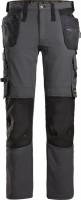 Snickers Workwear AllroundWork Full Stretch Trousers HP Stahlgrau/Schwarz