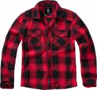Brandit Kinder Hemd Checkshirt Kids Red/Black