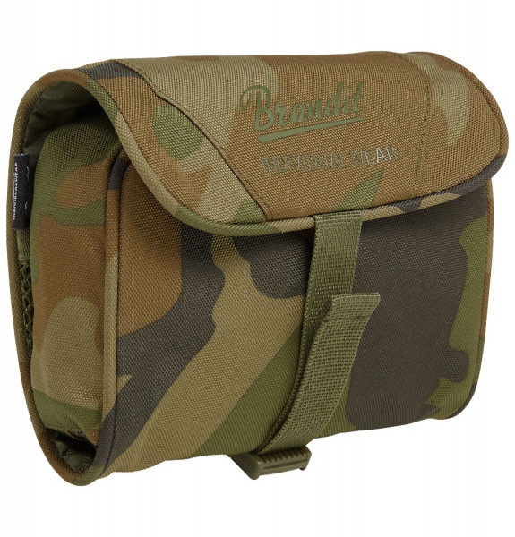 Brandit Tasche Toiletry Bag, medium in Woodland