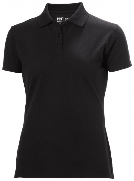 Helly Hansen Female Shirt 79168 W Manchester Polo 990 Black