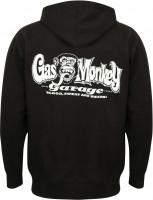 Gas Monkey Garage Hoodie OG Logo Zip Black