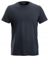Snickers Klassisches Baumwoll T-Shirt Navy