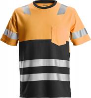 Snickers Workwear AllroundWork High-Vis T-Shirt Hi-Vis Orange/Schwarz