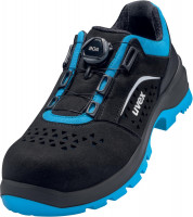 Uvex 2 Xenova® Halbschuhe S1P 95582 Schwarz, Blau (95582)