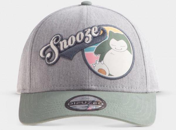 Pokémon Snorlax Snooze Adjustable Cap in Grey