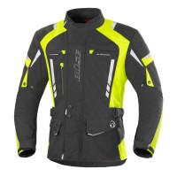 Büse Torino Pro Textiljacke Schwarz/Neongelb