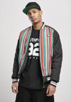 Southpole Jacke Stripe College Jacket Multicolor