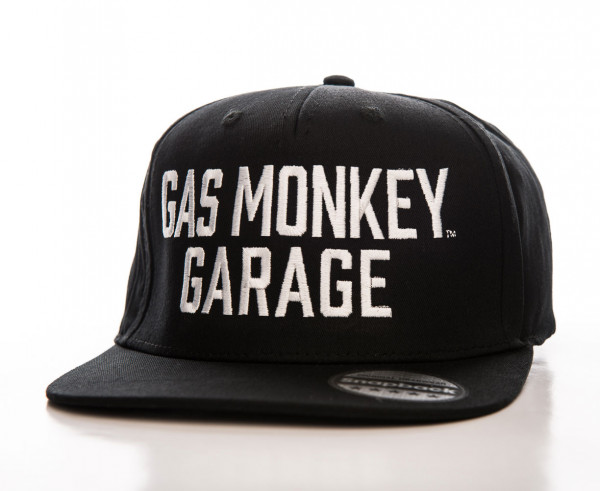 Gas Monkey Garage Cap Snapback Black
