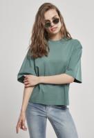Urban Classics Damen T-Shirt Ladies Organic Oversized Tee Paleleaf