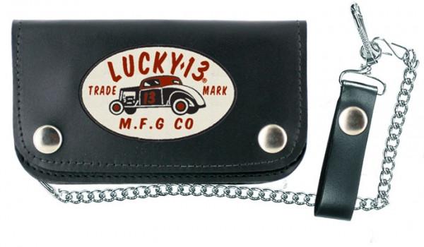 Lucky 13 Wallet Portemonnaie MFG 13 Black