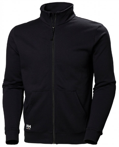 Helly Hansen Hoodie / Sweatshirt 79212 Manchester Zip Sweatershirt 990 Black