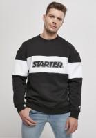 Starter Black Label Sweatshirt Block Crewneck Black/White