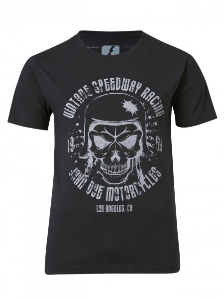 John Doe T-Shirt Skull Black