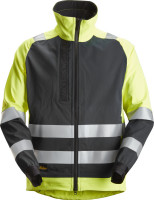 Snickers Workwear AllroundWork, High-Vis ungefütterte Arbeitsjacke Hi-Vis Gelb/Schwarz