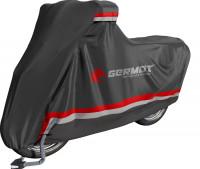 Germot Abdeckplane Premium Schwarz/Grau/Rot