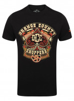 OCC Orange County Choppers T-Shirt Poker Run Black