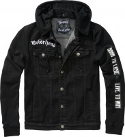 Brandit Men Jacke Motörhead Cradock Denimjacket Black-Black