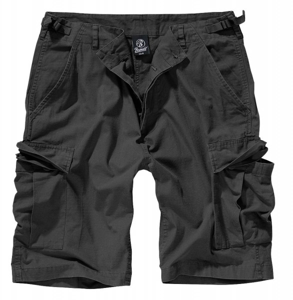 Brandit BDU Ripstop Shorts in Black