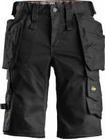 Snickers Workwear Damen AllroundWork Stretch Shorts HP schwarz