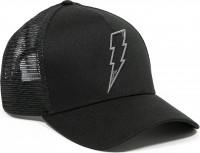 John Doe Cap Trucker Hat Flash Black