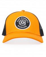 Gas Monkey Garage Cap Trucker Style Initial Logo Patch Yellow