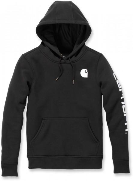 Carhartt Damen Sweatshirt Clarksburg Pullover Sweatshirt Black