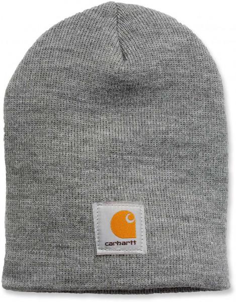 Carhartt Herren Mütze Acrylic Knit Hat Heather Grey