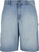 Urban Classics Carpenter Jeans Shorts Lighter Washed