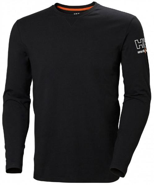 Helly Hansen Hoodie / Sweatshirt 79242 Kensington Longsleeve 990 Black