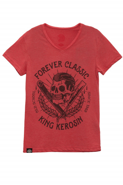 King Kerosin T-Shirt Forever Classic Red