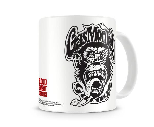 Gas Monkey Garage Kaffeebecher Blood, Sweat & Beer White