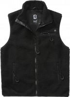 Brandit Men Weste Teddyfleece Vest Men Black