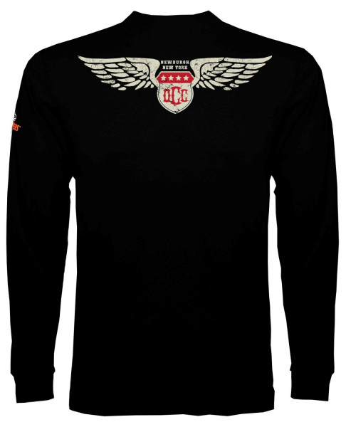 OCC Orange County Choppers Longsleeve American Shield Black
