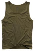 Brandit T-Shirt Tank Top in Olive