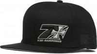 WCC West Coast Choppers Cap Kimi Raikkönen Cross 7 Snapback Flatbill Hat Black