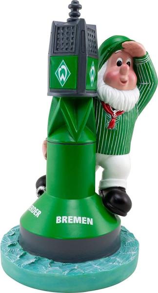 SV Werder Bremen Gartenzwerg Boje Fussball 1. Bundesliga Green