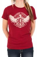 OCC Orange County Choppers Female Shirt Eagle Red
