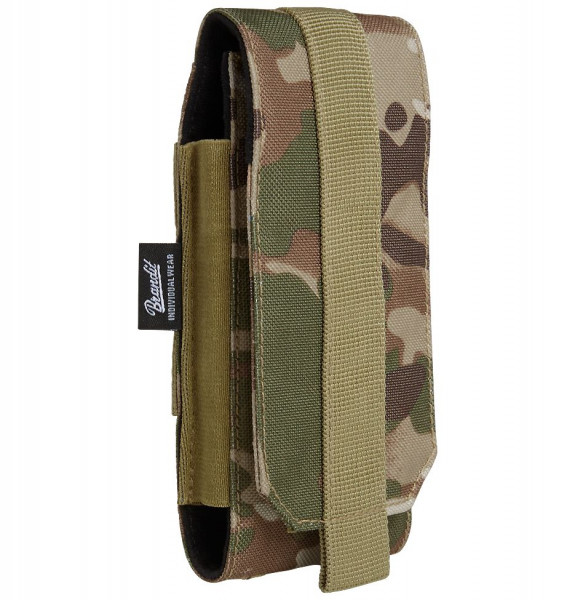 Brandit Tasche Molle Phone Pouch, large in Tactical Camo