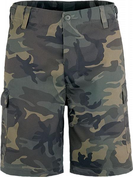 Brandit US Ranger Shorts in Woodland