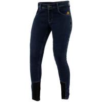 Trilobite Damen Motorrad Hose Jeans Allshape Fine Fit Blau