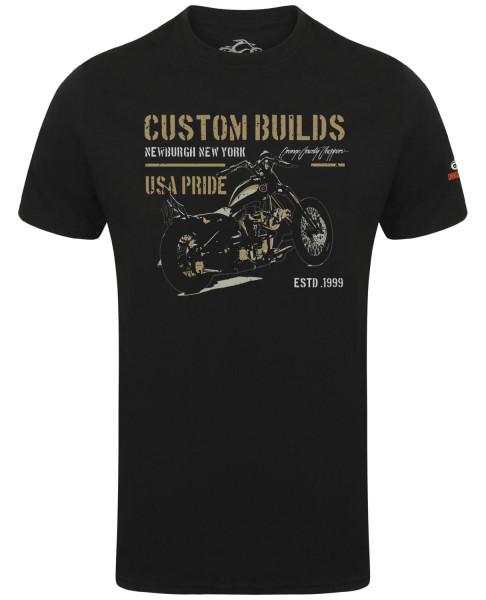 OCC Orange County Choppers T-Shirt USA Pride Black