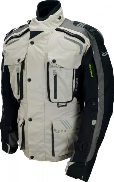 Bores Motorradjacke Eduardo Touring Grey